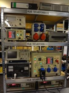 Messung EN60601-1